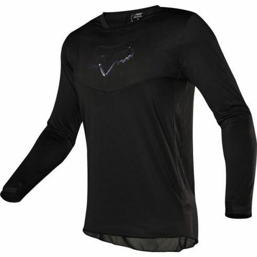 All Sizes Fox Racing Airline Vented Motocross Jersey Black