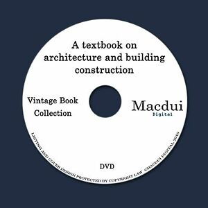 Details about A textbook on architecture and building construction 7 PDF  E-Books on 1 Data DVD