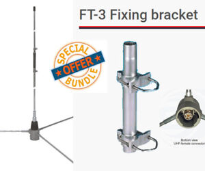Details about Sirio GP 6-E 140-175 Mhz VHF Base Station Antenna with FT-3  Mounting Bracket
