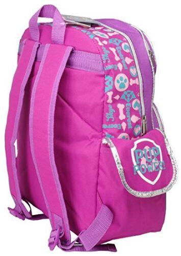 "Paw Patrol Girls Everest /& Skye Running Around 16/"" Backpack-6279"