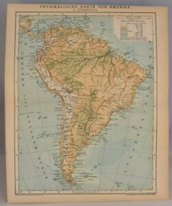 Details about Rare Geological Map of South America | Vintage Collectable on landscape map of south america, industrial map of south america, agricultural map of south america, soil map of south america, peopling of south america, physical map of south america, geographical center of south america, grand tour of south america, natural map of south america, tectonic map of south america, linguistic map of south america, land use map of south america, map of volcanoes in north america, location of patagonia in south america, circumnavigation of south america, earthquake map of south america, precambrian north america, historic map of south america, thermal map of south america, large map of south america,