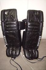 DUCKS/COYOTES Ilya Bryzgalov game-worn Vaughn goalie leg pads (2007-2008 season)