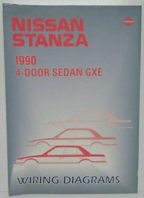 1990 Nissan Stanza 4