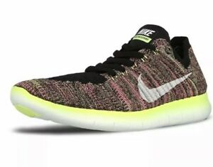 Details about Nike Free RN Flyknit OC Men's Running Shoes, Multicolor, Sz 9 US