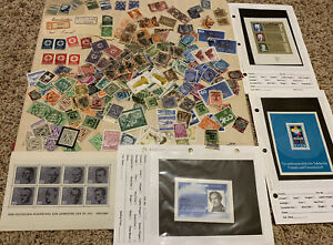 LOT OF GERMANY STAMPS, SWASTIKAS, ZEPPELINS, SOUVENIR SHEETS, OVPTS AND MORE