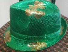 ce841221686 item 5 St. Patrick s Day Irish Kelly Sequin Flashing Lights Green Shamrock  Fedora Hat -St. Patrick s Day Irish Kelly Sequin Flashing Lights Green  Shamrock ...