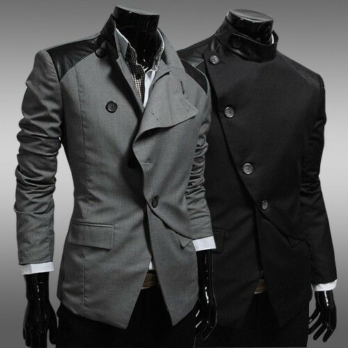 New Stylish Mens casual Stunning design slim fit Jacket Blazer Coat 4Size