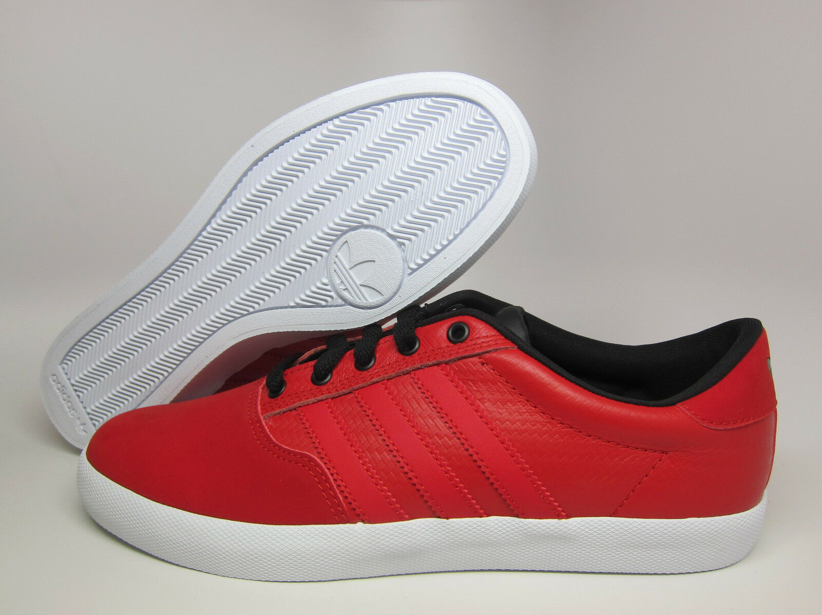 NEW MEN'S ADIDAS ORIGINALS MC LOW SHOES  Price reduction  LIGHT SCARLET//WHITE Wild casual shoes