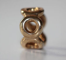 AUTHENTIC NEW PANDORA RETIRED 14K GOLD 750222 LINK SPACER G585 ALE *ONLY 3 LEFT
