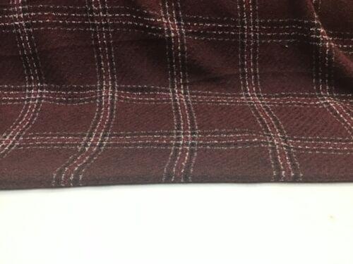 """New Designer Multicolored Check Boucle Fabric 58"""" 148cm"""