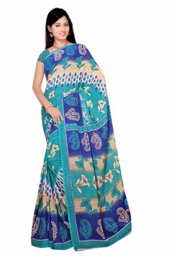 Chiffon Bollywood Carnevale Sari Orient India fo403