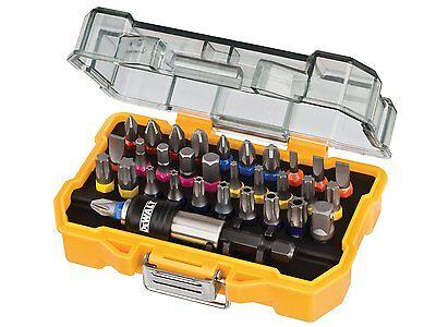 Dewalt DT7969 Screwdriver Bit Set 32 Piece PZ1, PZ2, PH1, PH2, Pozi DT7969QZ