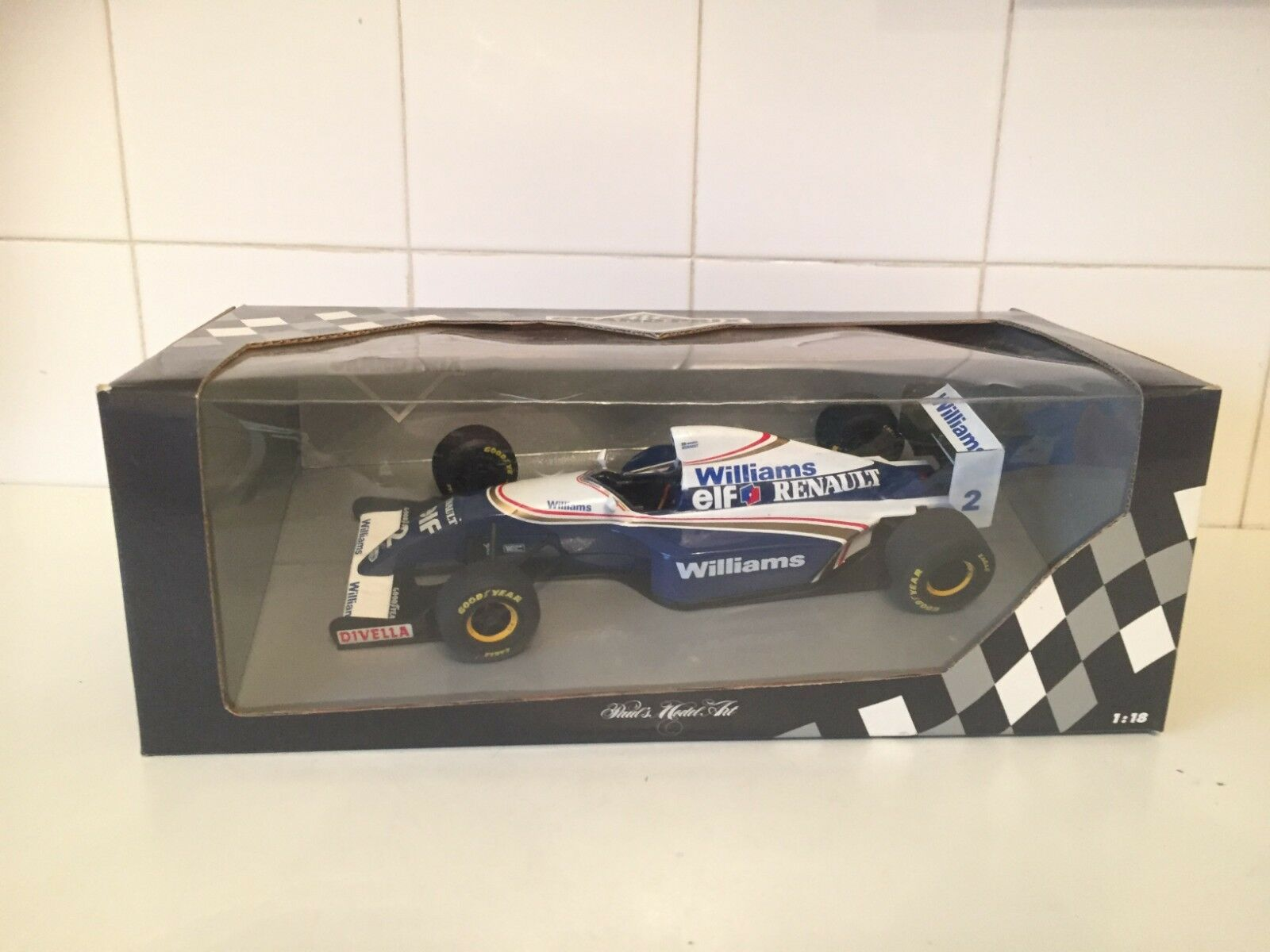 MINICHAMPS   F1 - WILLIAMS RENAULT FW15 - ARYTON SENNA - 1 18 SCALE - 180 941002