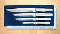 S04 Rada Cutlery Kitchen Knife Set 4 Pc Sharp Cuts Meat Etc. Usa Made 1344