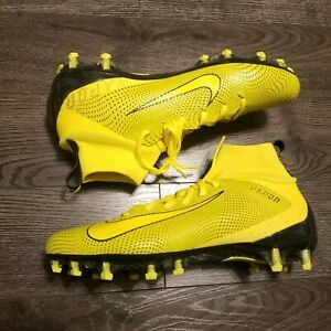 Nike Vapor Untouchable 3 Pro Football Cleats Mens 11 5 Yellow Black Steelers Ebay