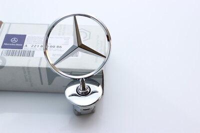 Brand NEW Mercedes Benz Front Hood Mounted Star Emblem OEM# A2108800186 Chrome