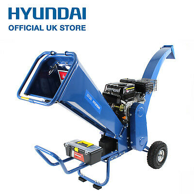 Hyundai Garden Petrol Wood Chipper with ELECTRIC START Heavy Duty 7hpHYCH7070E-2