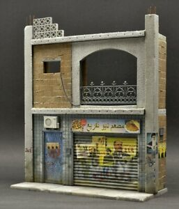 DioDump-DD124-Middle-East-shop-house-039-Ramadi-039-1-35-resin-diorama-building