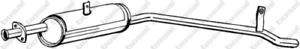 Mittelschalldämpfer für Abgasanlage BOSAL 279-017