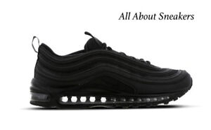 huge discount 2e856 f0839 Image is loading Nike-Air-Max-97-034-Triple-Black-034-