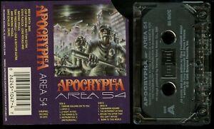Apocrypha-Area-54-USA-Cassette-Tape