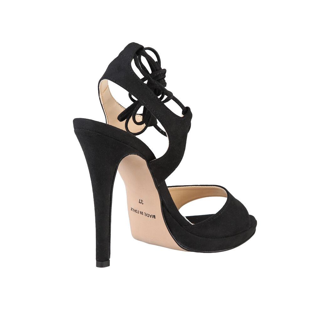 Made in italia femme erica talon talon talon haut sandales avec réglable sangle de cheville | Une Forte Résistance à Chaleur Et Résistant  | Nouveaux Produits  b2a8c0