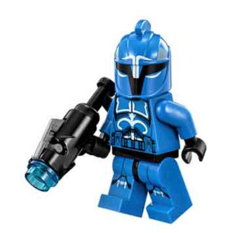 "NEW LEGO STAR WARS SENATE COMMANDO CAPTAIN /""NEW VERSION/"" MINIFIG figure 75088"