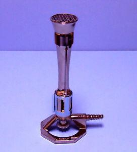 Meker High Temperature Burner Lp Gas Humboldt Ebay