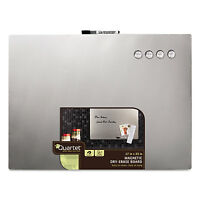 Quartet Magnetic Dry Erase Board With Stainless Steel Finish 17 X 23 Frameless on sale