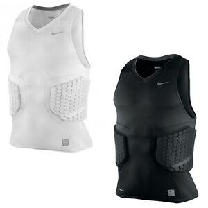 98efca830 Nike Pro Combat Vis-Deflex Basketball Padded Sleeveless Mens Top ...