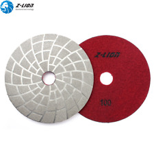 5 Vacuum Brazed Diamond Polishing Pads Dry Wet Grinding Disc Sanding Pads Wheel