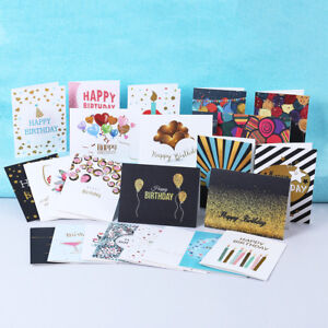 Image Is Loading Pack Of 24 General Birthday Cards 26 Envelopes
