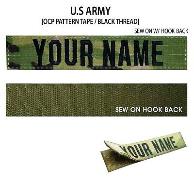 Woodland For Sew-On *Name is Required* Custom US MARINES Name Tape