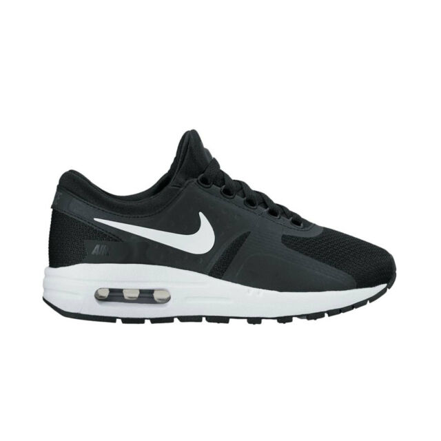 Nike Air Max Zero Essential GS Black and White Athletic Shoes Size 6y