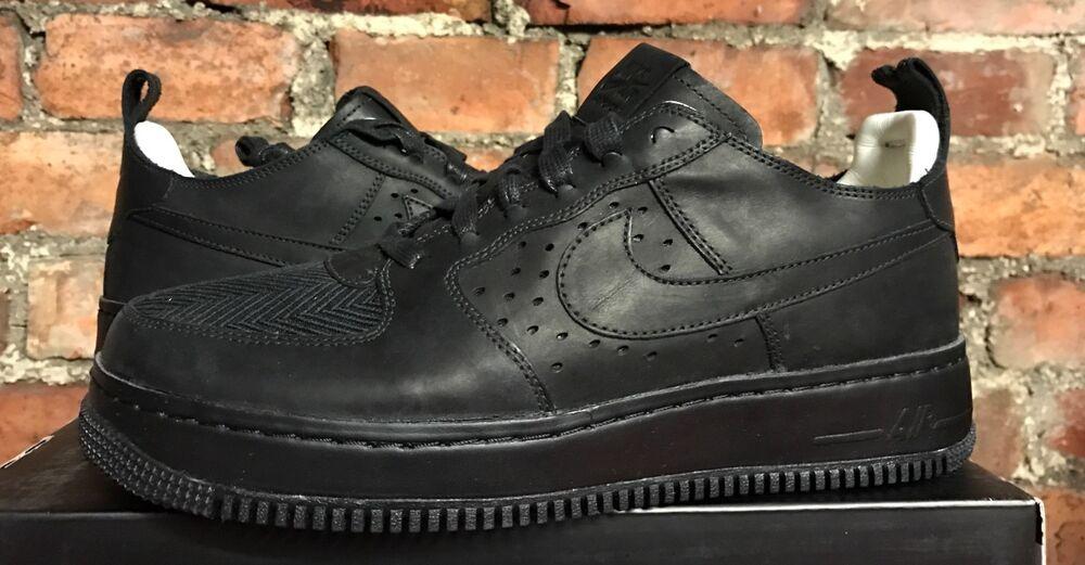 Nike Air Force 1 CMFT TC SP Triple Noir  Chaussures de sport pour hommes et femmes