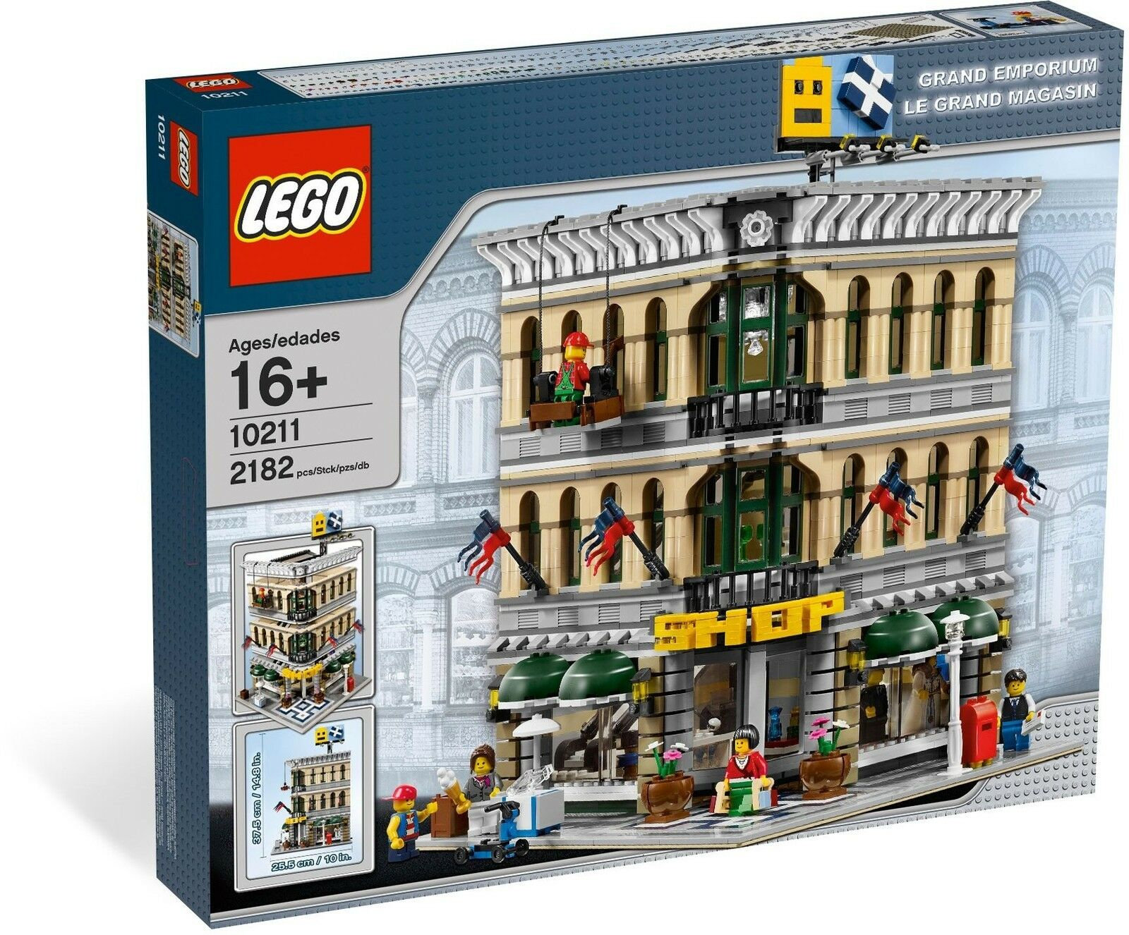 LEGO® Creator Expert™ 10211 Großes Kaufhaus NEU OVP_Grand Emporium NEW MISB NRFB