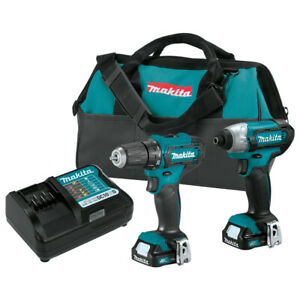 Makita CT232-R CXT 12 Max Cordless 2-Pc Combo Kit (1.5 Ah) Certified Refurbished
