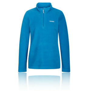 Regatta-Womens-Sweethart-Half-Zip-Fleece-Top-Blue-Sports-Outdoors-Breathable