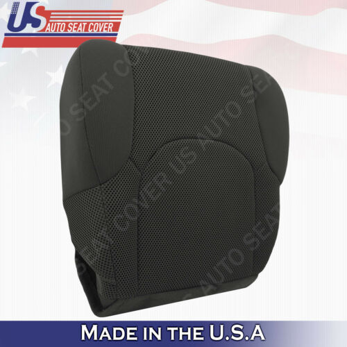 FITS 2005 to 2019 Nissan Frontier Front Lower Bottom Cloth Seat Cover Dark Gray*