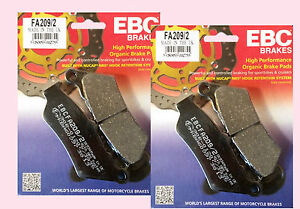 2x-Sets-of-EBC-FA209-Front-Brake-pads-for-BMW-F-F800-GS-Adventurer-2008-14