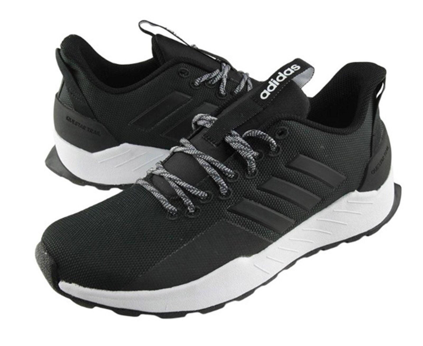 Zapatos De Entrenamiento Adidas Hombres QueEstrella Trail Negro Gimnasio Zapatos tenis de correr BB7438