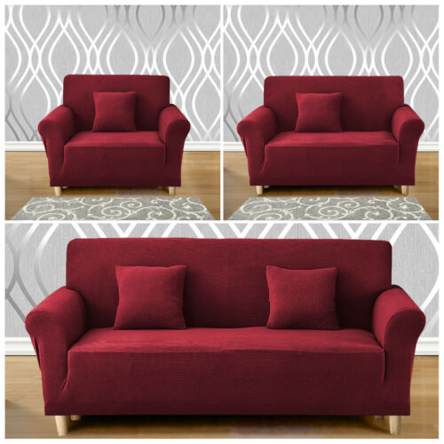 1-4 Seater Elastic Stretch Sofa Covers Pet Protector Couch Slipcover Washable