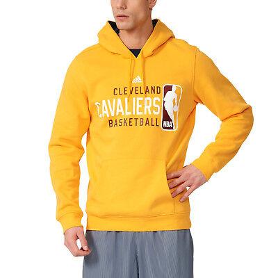 Adidas Hommes Sweat à Capuche de Basketball NBA Cleveland Cavaliers GFX formation Jaune AX7730   eBay