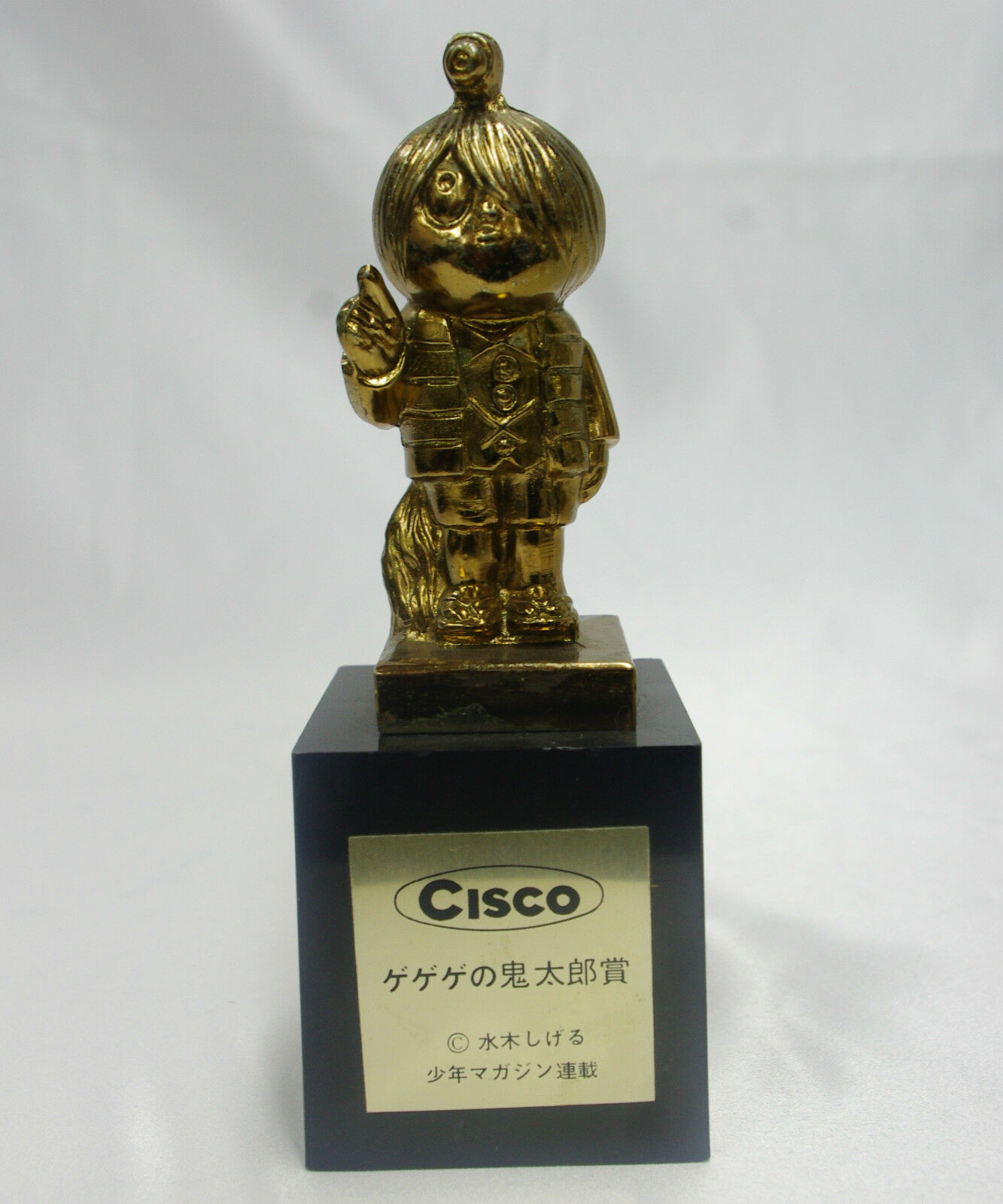 6  Gegege no Kitaro vintage 1960's Cisco lottery prize statue Japanese anime toy