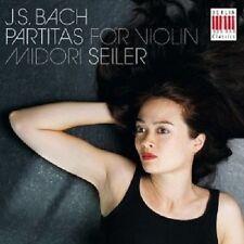Midori Seiler-partiten, BMV 1002,1004,1006 CD NUOVO