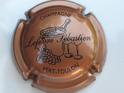 Sébastien LEFEVRE Capsule de Champagne New