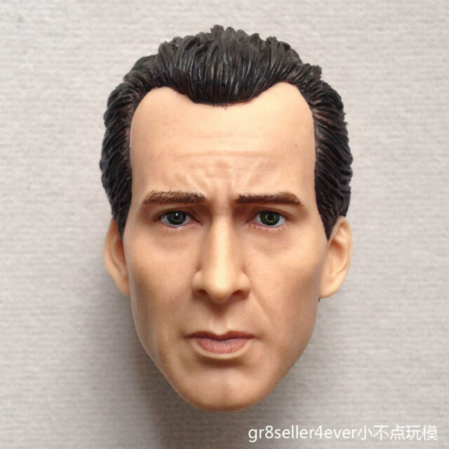 "1:6 Scale Nicolas Cage Male Head Sculpt Fit 12/"" Hot ZY Toys Phicen Action Figure"
