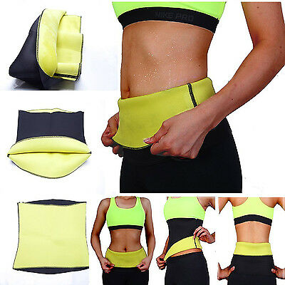UK Hot Slimming Shapers Soft Neoprene Wear Slim Waist Weight Loss Yoga Belt P-7
