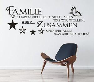 X143-Wandtattoo-Spruch-Familie-wir-haben-zusammen-Wandsticker-Wandaufkleber