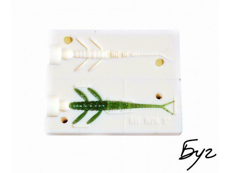Stone Soft Making Bait Plastic  Worms Mold Molds Lure Injection Fishing Quality  cheap sale